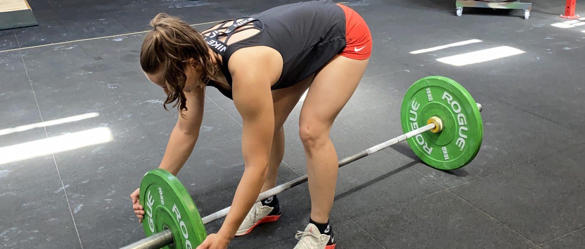 Csukás Zsóka a CrossFit Budapestben