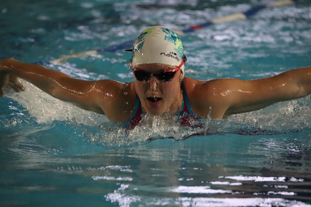 Úszóversenyen
