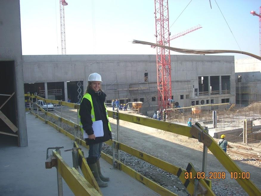Építkezésen